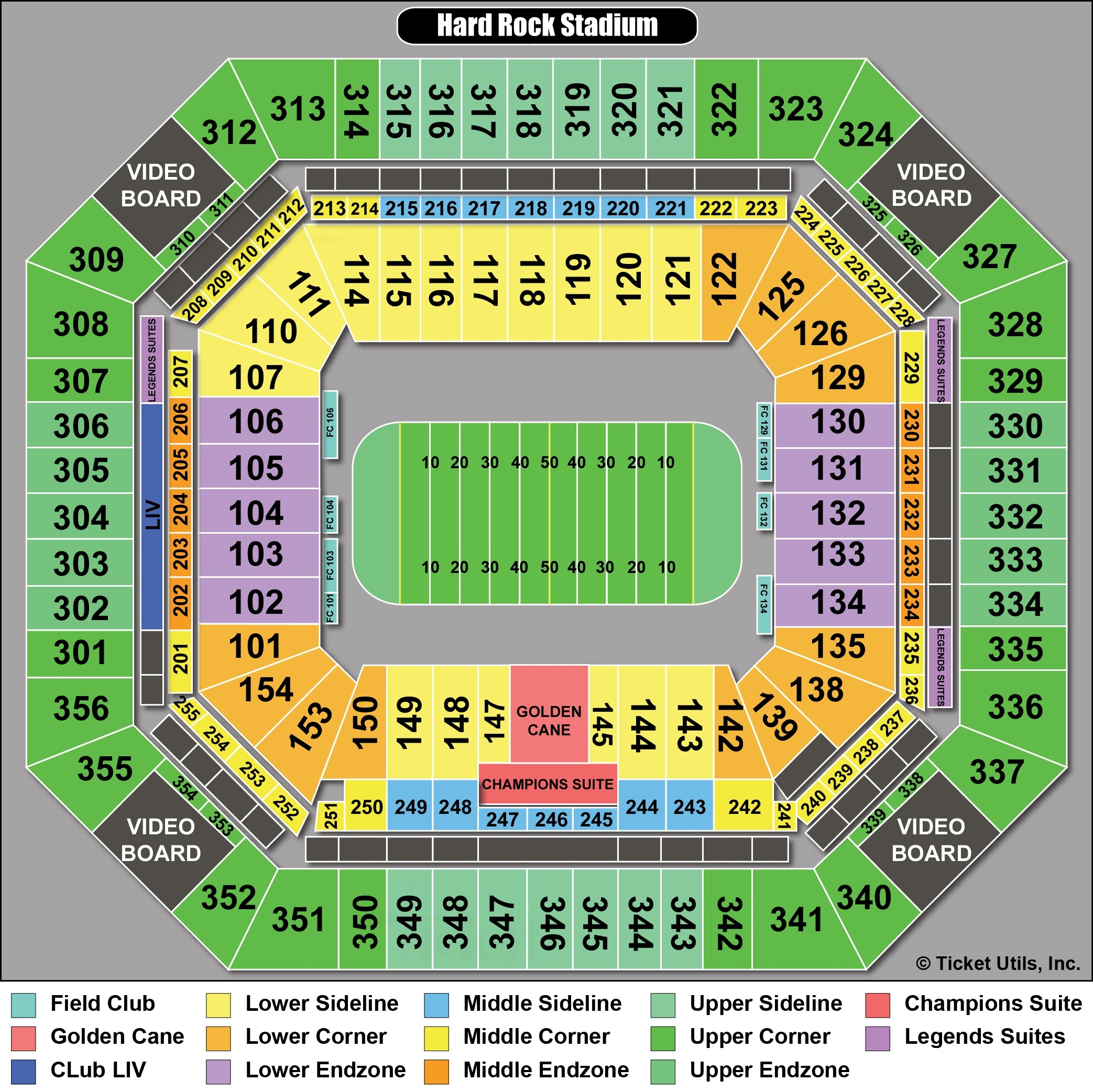 hard rock stadium - miami dolphins tickets